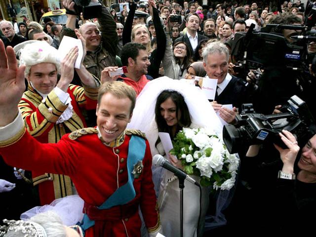 Ненастоящая свадьба принца Уильяма