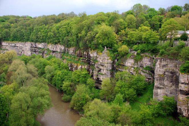 Українські фіорди: Буцький каньйон