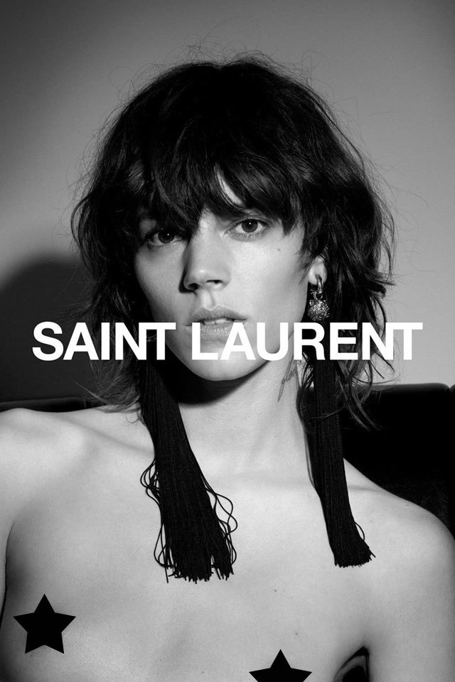 Вызов обществу: провокационная рекламная кампания Saint Laurent