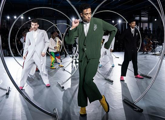Неделя мужской моды в Париже осень-зима 2021