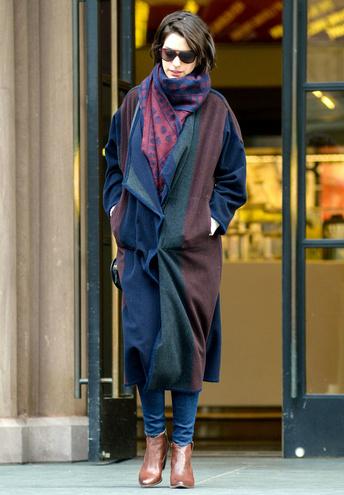 Енн Хетевей street style