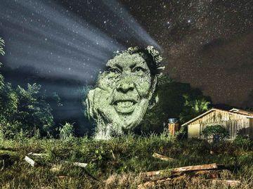 Стрит-арт в лесах Амазонки