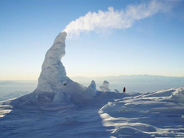 Ice Towers of Mount Erebus