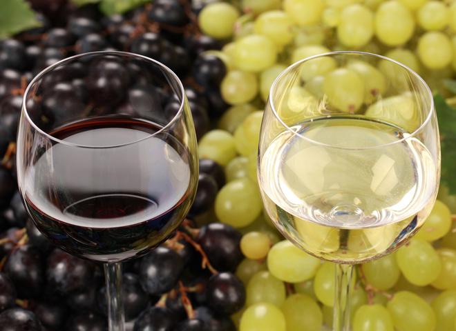 Домашнее вино, виноград красный, виноград белый, брод