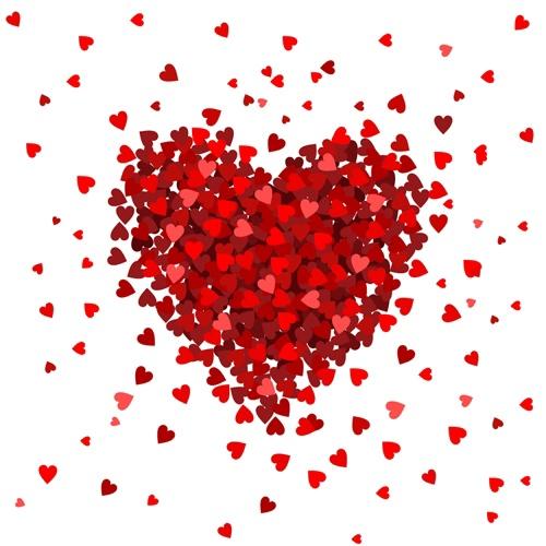 Пламенное сердце на 14 февраля