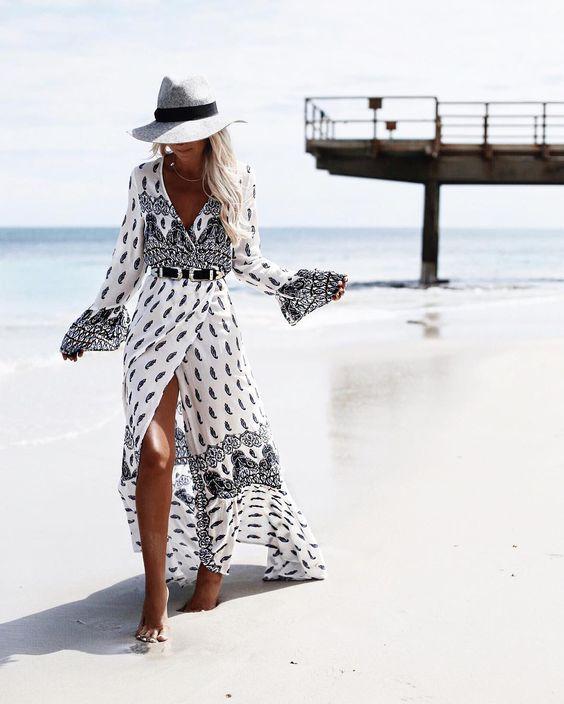 Сукні на пляж 2018