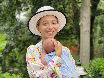 Катерина Репяхова з сином