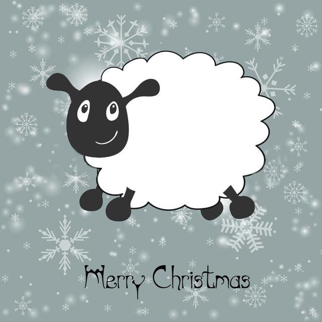 С овечьим Рождеством 2015!