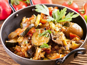 баклажани, овочеве рагу