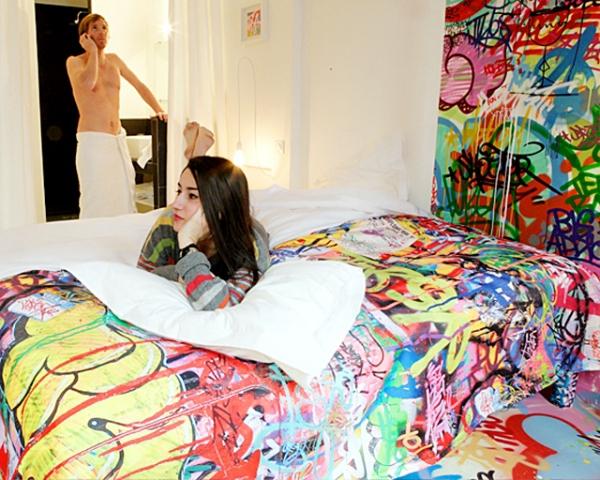Необычные номера в отелях: «паническая комната», Au Vieux Panier, Франция