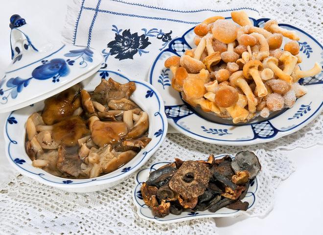 Комора здоров'я: як заморозити білі гриби на зиму