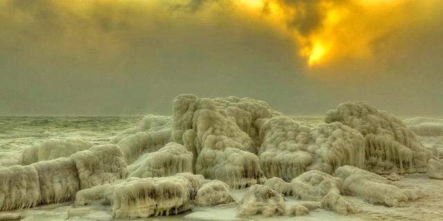 20 удивительных фотографий зимней Одессы