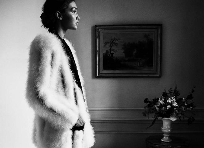 Джіджі Хадід в романтичній зйомці німецького Vogue