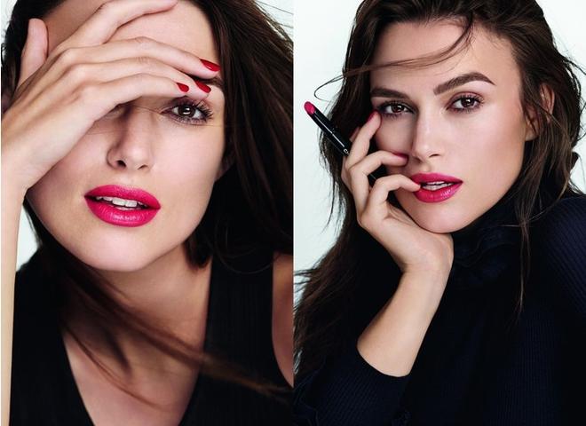 #ilovecoco: Кіра Найтлі в новій рекламній кампанії помад від Chanel (фото, відео)