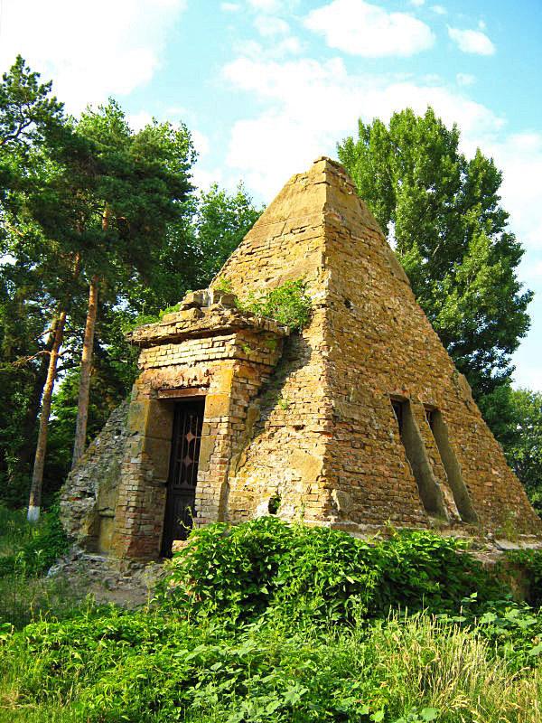 Куда съездить на выходные: Полтавские пирамиды