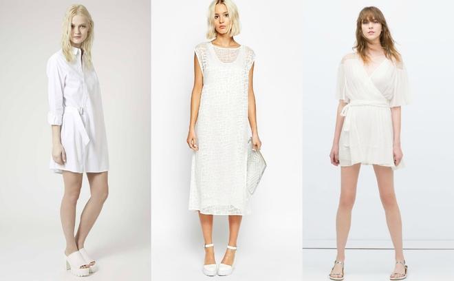 Тренд літа - модні білі сукні