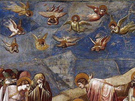 Британские ученые не верят, что ангелы Джотто смогли бы взлететь