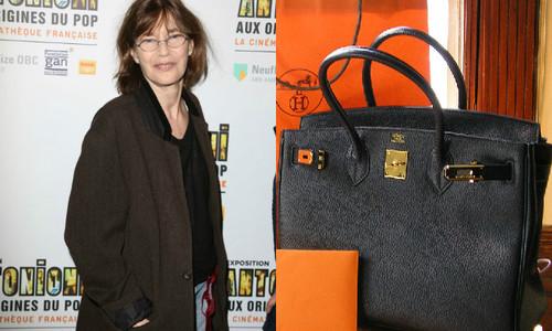 Джейн Биркин попросила Hermès убрать ее имя из названия сумок