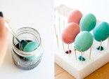 Мраморные пасхальные яйца: рецепт