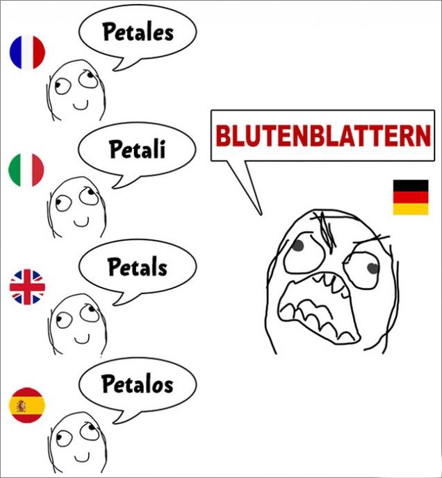 Фууу комикс про немецкий язык