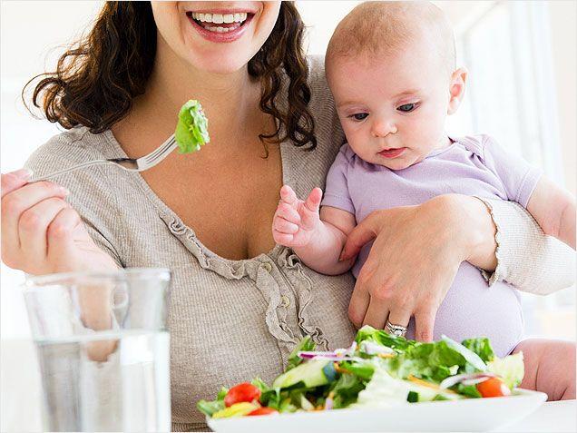 Як харчуватися мамі, що годує грудьми