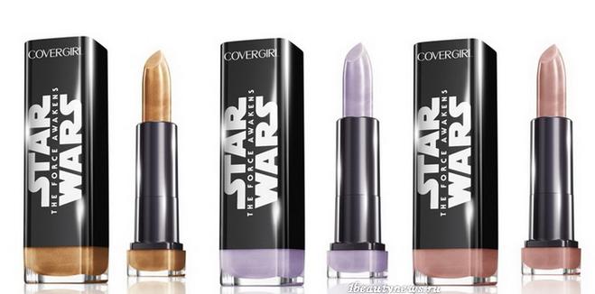 """Галактика стає ближче: нова колекція макіяжу """"Зоряні війни"""" (фото)"""