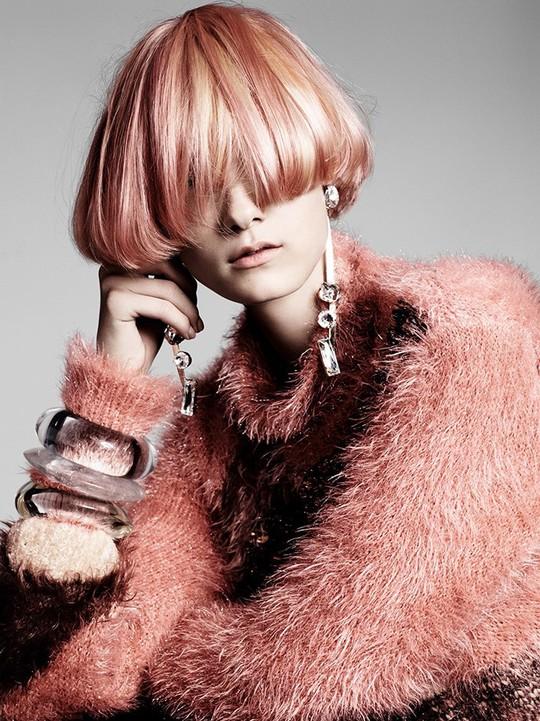Модні стрижки волосся 2016: ідеї від стиліста Роландо Бошама для Vogue China (фото)
