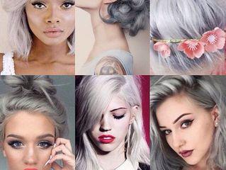 Тренд сезона: седые волосы