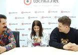 Павел Зибров и Плюшевый Бруклин в гостях у tochka