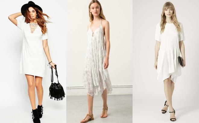 Модные белые платья — тренд лета