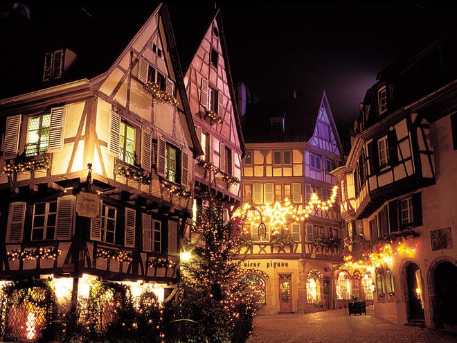 Різдвяні ярмарки: Рождественские ярмарки: Marchés de Noël