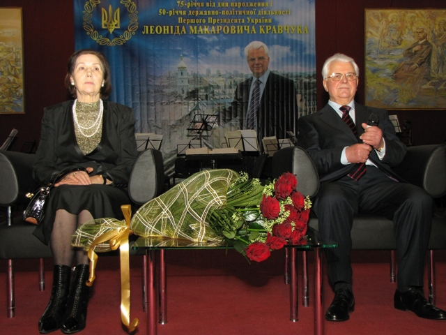 Антонина кравчук – супруга первого