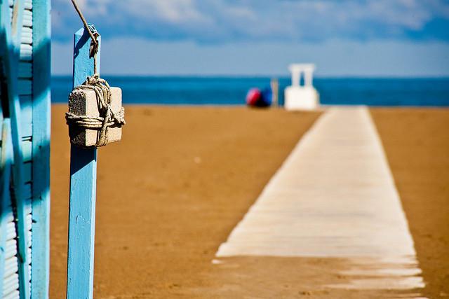 Лучшие пляжи мира: расслабляющий зимний Римини (фото)