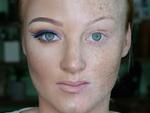 Шокирующие фото: Макияж на пол-лица
