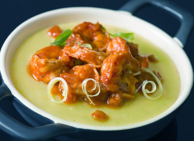 Смачні пісні рецепти: горохове пюре з морепродуктами