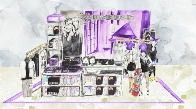 Леді Гага та Елтон Джон створили колекцію одягу для Macy's