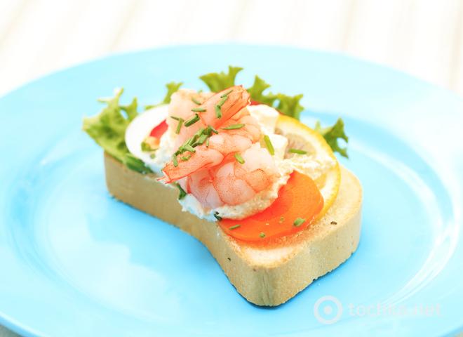 Вкусные некалорийные бутерброды