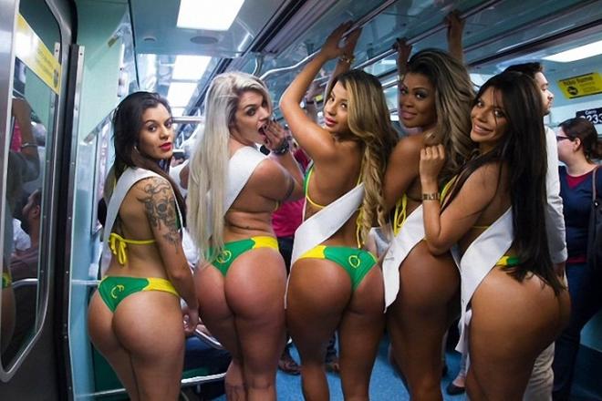 Конкурс Miss Bumbum - самая красивая попа Бразилии 2015
