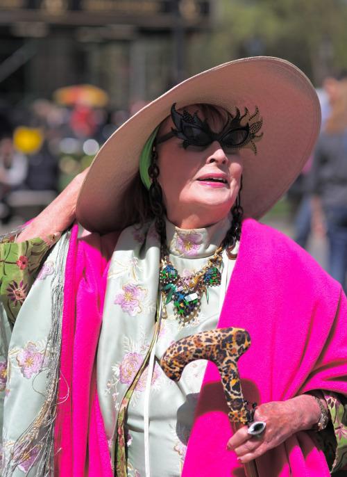 Старість у радість: просунутий стиль нью-йоркських бабусь