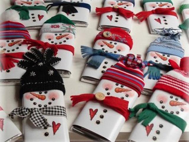 Новогодние подарки своими руками 2015