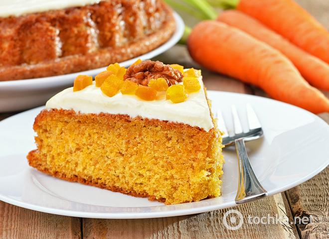 Как приготовить морковный пирог: рецепт здорового питания