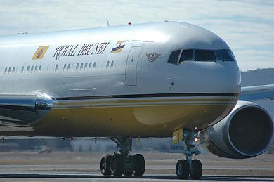 Самолеты президентов: самолеты султана Брунея