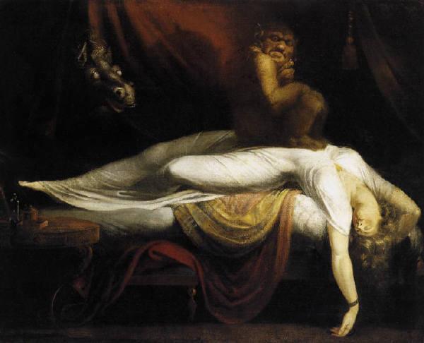 """Генри Фузели, """"Кошмар"""", 1781 год"""