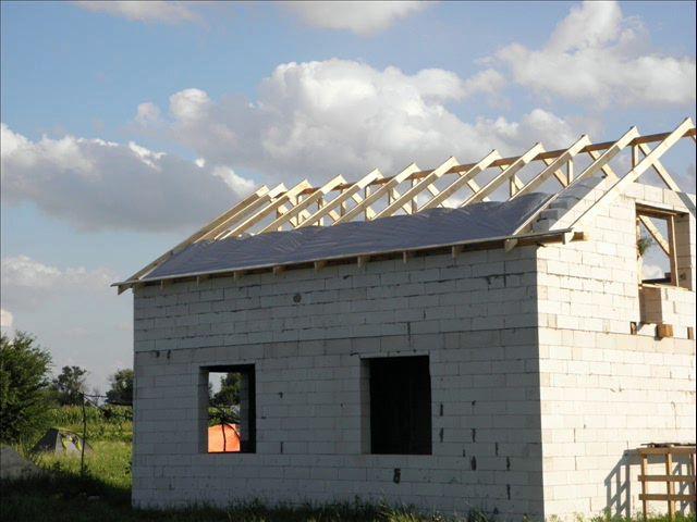 Крыша дома своими руками с фото
