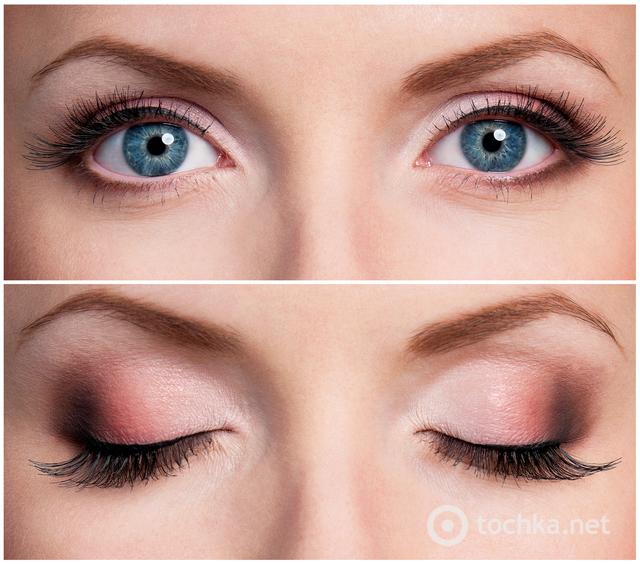 формы глаз и стрелок