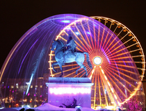 Куда поехать в декабре: Фестиваль света в Лионе, Франция.