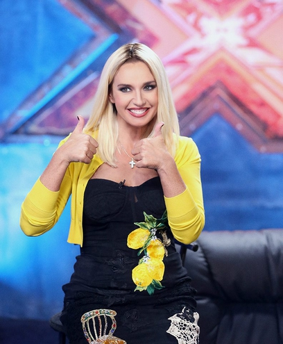 оксана марченко - блондинка