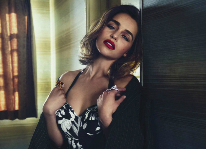 Емілія Кларк в зйомці австралійського Vogue