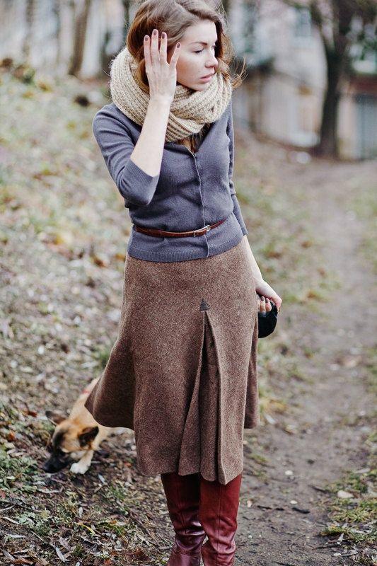 Що носити восени: мода на твід