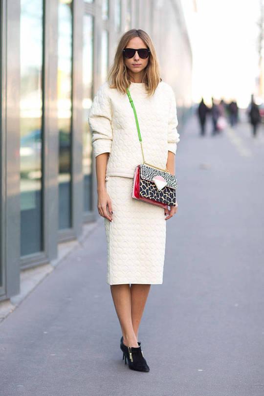 Модний колір одягу 2016: білий